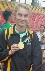 Tia Starkie gold medal KL 2015 (2)