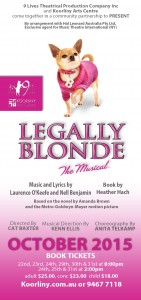 Legally Blonde flyer v2