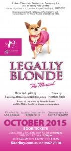 Legally Blonde flyer v2