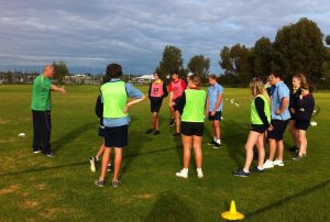Certificate II Sport and Recreation Students learn tactics from NRL Game Development Officer